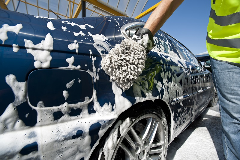 Idea #12 | Change the way you wash your car